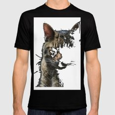 Prrrr Mens Fitted Tee Black SMALL