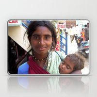 Indian Poor Woman Laptop & iPad Skin
