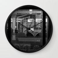 Preservation Wall Clock