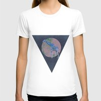 Out of Reach Womens Fitted Tee White SMALL