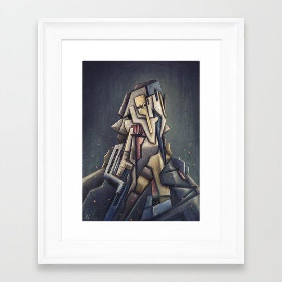 Something For The Ladies Framed Art Print