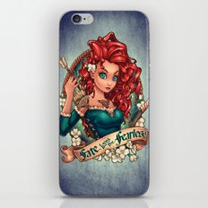 Fate Loves The Fearless iPhone & iPod Skin