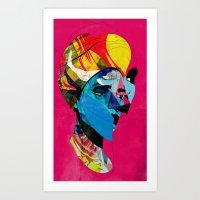 Head_141113 Art Print