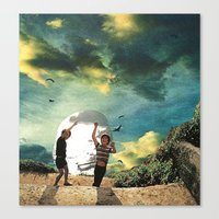 laboratory in the sky... (2) Canvas Print