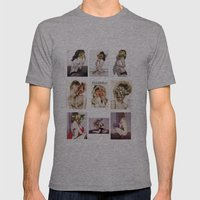 9 COLLAGE SERIES Mens Fitted Tee Athletic Grey SMALL