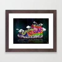 Horror Vacui - Baskets01 Framed Art Print
