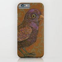 iPhone & iPod Case featuring Vernal Harbinger by fluffco