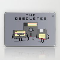 The Obsoletes (Retro Flo… Laptop & iPad Skin