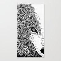 wolf like me Canvas Print