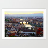 All About Italy. Piece 1… Art Print