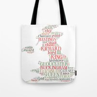 Shakespeare's Richard III  Tote Bag