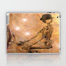 Monsieur Bone deep in meditation Laptop & iPad Skin