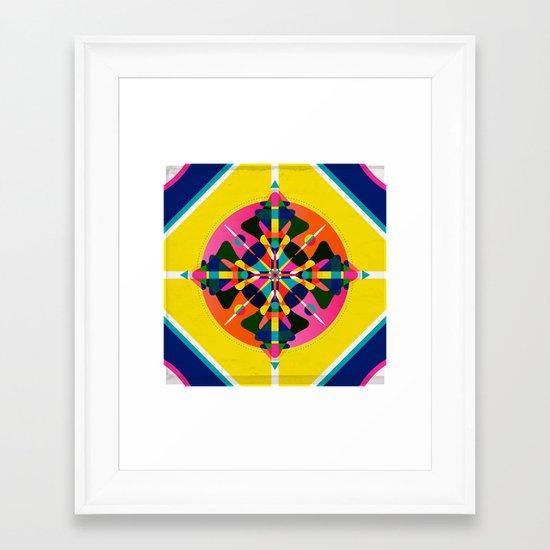 Compass, Palette 1 Framed Art Print