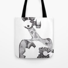 Anabelle (B&W) Tote Bag