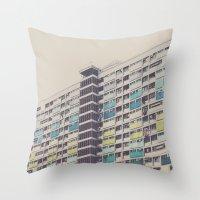 CHOI HUNG Throw Pillow