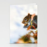Hunting for Food  Stationery Cards