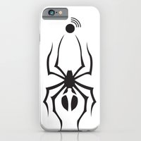 iPhone & iPod Case featuring Spider by Luca Finardi
