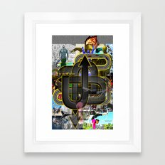 TURN IT UP! Framed Art Print