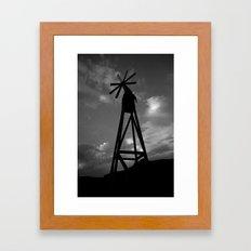 windtage Framed Art Print