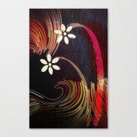 Swirly Girly Canvas Print