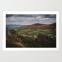 The Irish Countryside Art Print