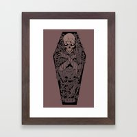 Ashes To Ashes. Dust To … Framed Art Print