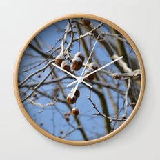Winter II Wall Clock