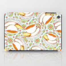 Cup of Tea on Mandala Cloth iPad Case