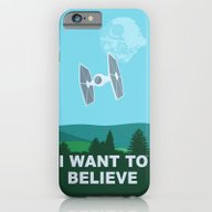 I WANT TO BELIEVE - Star… iPhone 6 Slim Case