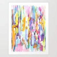 dance Art Prints featuring Dance by Amy Sia