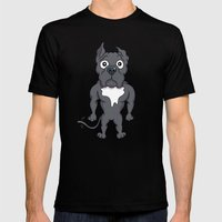 Bluie Mens Fitted Tee Black SMALL