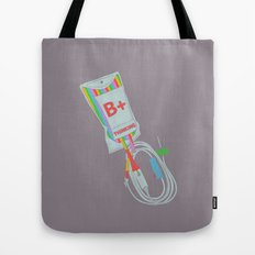 Be Positive Thinking Tote Bag