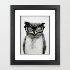 Mr. Owl Framed Art Print