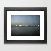 Coastline Framed Art Print