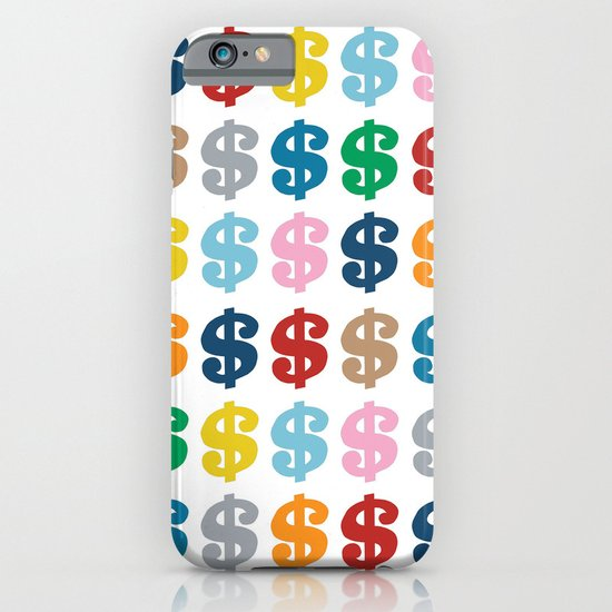 Colourful Money 48 iPhone & iPod Case