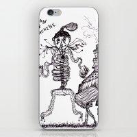 Man & Machine iPhone & iPod Skin