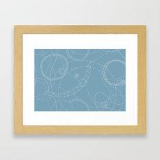 Cosmic Chatter Framed Art Print