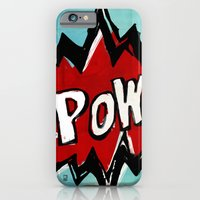 Comic Book: Pow! iPhone 6 Slim Case