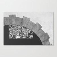 Napoli città nascosta Canvas Print