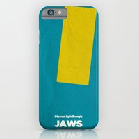 iPhone & iPod Case featuring Steven Spielberg's JAWS by Lechaftois Boris (LBö)