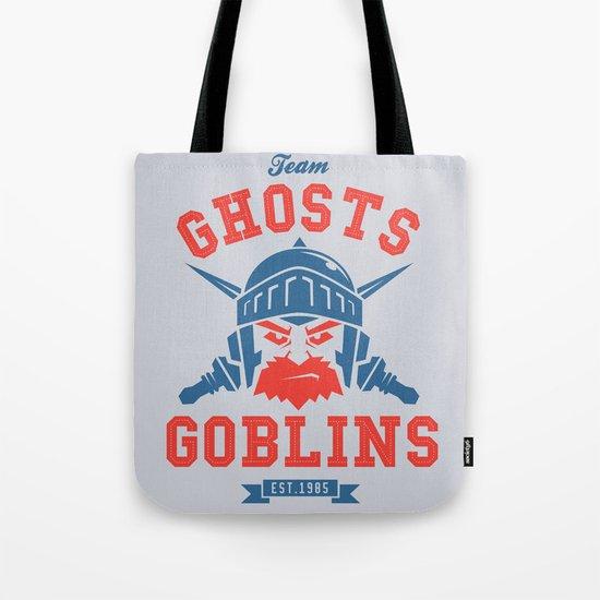 Team Ghosts & Goblins Tote Bag