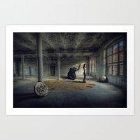 Time Factory Art Print