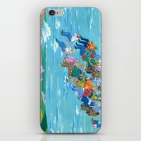 Plane Without Plane iPhone & iPod Skin