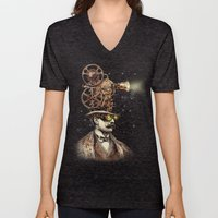 The Projectionist (sepia… Unisex V-Neck