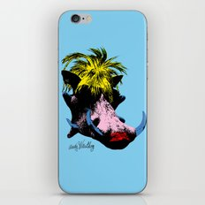 Andy Warthog iPhone & iPod Skin