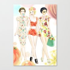 Dolce & Gabbana SS12 Illustration Canvas Print