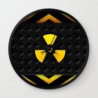 Nuclear Reactor Wall Clock