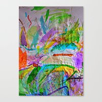 Lily's Watercolor Canvas Print
