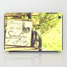 Friends & Life iPad Case
