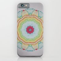 iPhone & iPod Case featuring Mosaic Mandala by Pink grapes